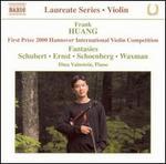 Frank Huang: Violin Recital