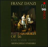 Franz Danzi: Flute Quartets, Op. 56 - Ardinghello Ensemble; Karl Kaiser (flute); Martin Diehl (cello maker)