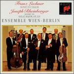 Franz Lachner: Nonet in F major; Joseph Rheinberger: Nonet in E flat major, Op. 139