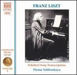 Franz Liszt: Schubert Song Transcriptions