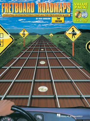 Fretboard Roadmaps: Essential Guitar Patterns That All the Pros Know & Use - Sokolow, Fred