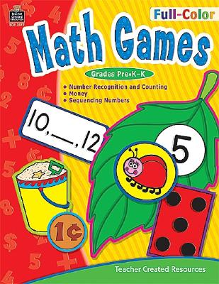 Full-Color Math Games - Hoffman, Bridget Kilroy