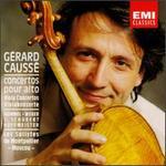 Gérard Causse joue concertos pour alto