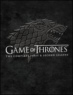 Game of Thrones: The Complete First & Second Seasons [10 Discs] [Blu-ray]
