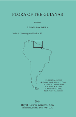 Gentianaceae: (L. Struwe with J. Allogio, L. Cobb, J.R. Grant, M.J. Jansen-Jacobs, M. Kinkade, K.B. Lepis, H. Maas- Van De Kamer, P.J.M. Maas, M.I. Palmer) - De Oliveira, Sylvia Mota (Editor)