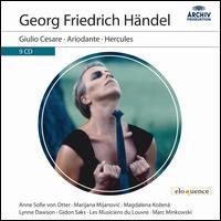 Georg Friedrich Händel: Giulio Cesare; Ariodante; Hercules - Alan Ewing (bass); Anne Sofie von Otter (mezzo-soprano); Bejun Mehta (counter tenor); Charlotte Hellekant (mezzo-soprano);...