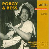 George Gershwin: Porgy & Bess - Cab Calloway (vocals); Catherine Ayers (vocals); Elizabeth Foster (vocals); Georgia Burke (vocals); Helen Colbert (vocals);...