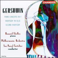 Gershwin: Piano Concerto in F; Rhapsody in Blue; Second Rhapsody - Howard Shelley (piano); Philharmonia Orchestra; Yan Pascal Tortelier (conductor)
