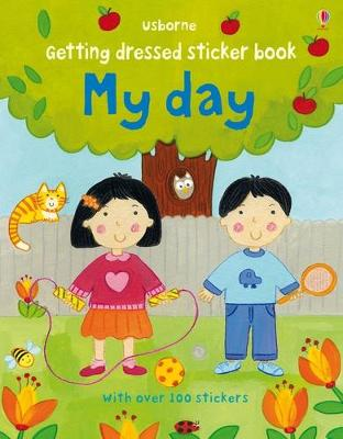 Getting Dressed Sticker Book My Day - Brooks, Felicity