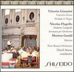 Giannini: Concerto Grosso; Flagello: Andante Languido: Morton Gould: Harvest