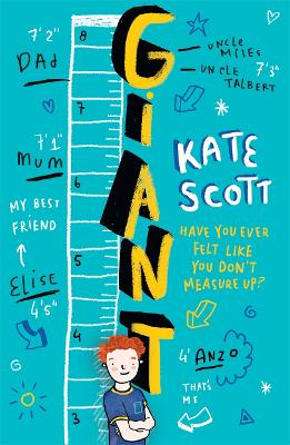 Giant: A Feel-Good Children's Book About Growing Up and Being Yourself - Scott, Kate