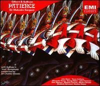 Gilbert & Sullivan: Patience - Alexander Young (tenor); Elizabeth Harwood (soprano); Elsie Morison (soprano); George Baker (baritone); Heather Harper (soprano); John Cameron (baritone); John Shaw (baritone); Keith Wood (oboe); Marjorie Thomas (contralto); Monica Sinclair (contralto)