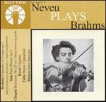 Ginette Neveu Plays Brahms