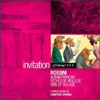 Gioacchino Rossini: Album Francais; Peches de Vieillese; Sins of Old Age - Chorus Musicus Köln; Christoph Spering (harmonium); Christoph Spering (organ); Elzbieta Kalvelage (piano);...