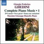 Giorgio Federico Ghedini: Complete Piano Music, Vol. 1