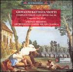 Giovanni Battista Viotti: Violin Concerto Nos. 29 and 21