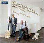 Giovanni Benedetto Platti: Six Sonatas for Violoncello and Basso Continuo