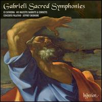 Giovanni Gabrieli: Sacred Symphonies - Concerto Palatino (brass ensemble); Ex Cathedra Consort; Grace Davidson (soprano); Greg Skidmore (baritone);...