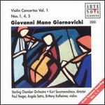 Giovanni Mane Giornovichi: Violin Concertos Nos. 1, 4, 5