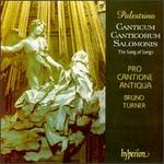 "Giovanni P. da Palestrina: Canticum Canticorum Salomonis ""The Song of Songs"""
