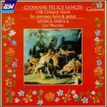 Giovanni Sances: 17th Century Music for Sopranos, Harp & Guitar - Liliana Mazzarri (soprano); Musica Fabula; Sarah Pillow (soprano)