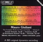 Giuliani: Complete Works for Flute & Guitar Vol.2