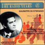Giuseppe di Stefano - Radio Years
