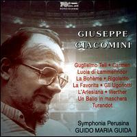 Giuseppe Giacomini - Giuseppe Giacomini (tenor); Symphonia Perusina Orchestra; Guido Maria Guida (conductor)