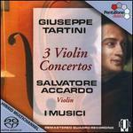 Giuseppe Tartini: 3 Violin Concertos