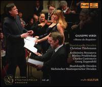 Giuseppe Verdi: Messa da Requiem - Charles Castronovo (tenor); Georg Zeppenfeld (bass); Krassimira Stoyanova (soprano); Marina Prudenskaya (mezzo-soprano);...