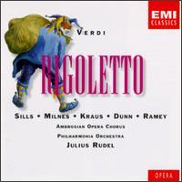 Giuseppe Verdi: Rigoletto - Alan Watt (vocals); Alfredo Kraus (tenor); Ann Murray (vocals); Beverly Sills (soprano); Dennis O'Neill (vocals);...