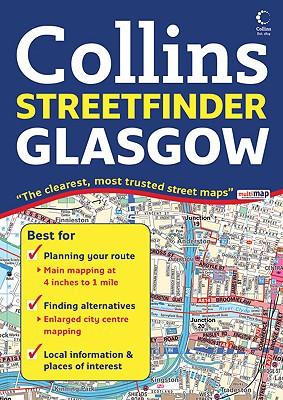 Glasgow Streetfinder Colour Atlas -