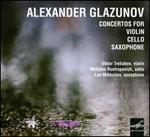 Glazunov: Concertos for Violin, Cello & Saxophone