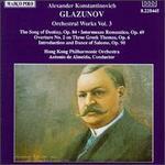 Glazunov: Orchestra Works, Vol.3