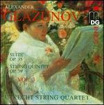 Glazunov: String Quartets, Vol. 3