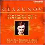 Glazunov: Symphonies 4 & 5