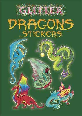 Glitter Dragons Stickers - Shaffer, Christy