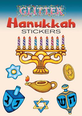 Glitter Hanukkah Stickers - Levin, Freddie