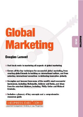 Global Marketing - Lamont, Douglas