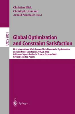 Global Optimization and Constraint Satisfaction - Bliek, Christian (Editor)