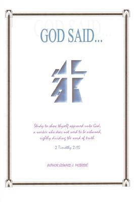 God Said - McBride, Edward J