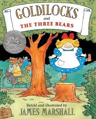 Goldilocks and the Three Bears - Marshall, James, and Brett, Jan