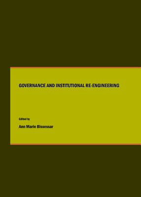 Governance & Institutional Re- - Bissessar, Ann Marie (Editor)