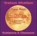 Graham Whettam: Piano Music
