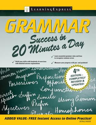 Grammar Success in 20 Minutes a Day - Learning Express LLC