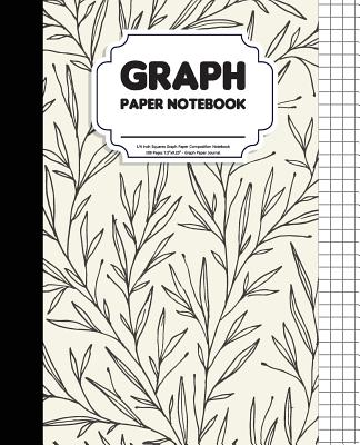 Graph Paper Notebook: 1/4 Inch Squares Graph Paper Composition Notebook - 108 Pages 7.5x9.25 - Graph Paper Journal: Notebook Graph Paper - Tomme Foses