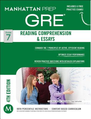 GRE Reading Comprehension & Essays - Manhattan Prep