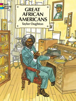 Great African Americans Coloring Book - Oughton, Taylor