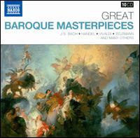 Great Baroque Masterpieces - Alexander Jablokov (violin); Anna Hölbling (violin); Aradia Ensemble; Bedrich Tylsar (horn); Bela Banfalvi (violin);...