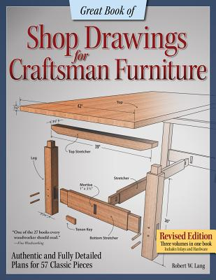 1565238125 Great Book Of Shop Drawings For Craftsman Furniture